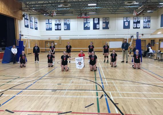 2020-2021 Division 3 NSSAF Sr. Girls Volleyball Champions